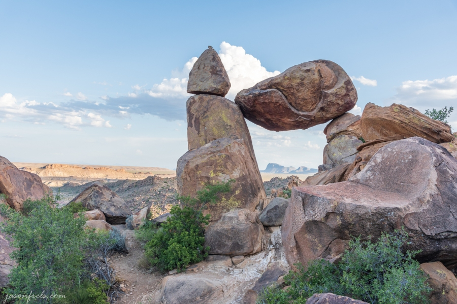 Balanced Rock at Big Bend National Park