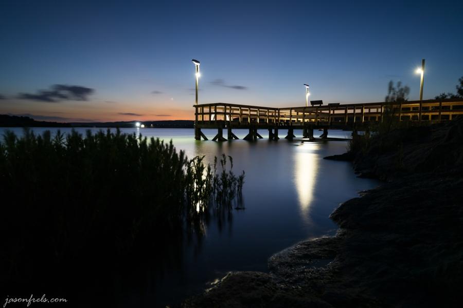 Fishing Pier at Inks Lake State Park