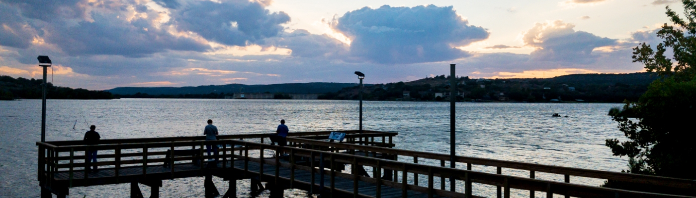 Fishing Pier on Inks Lake