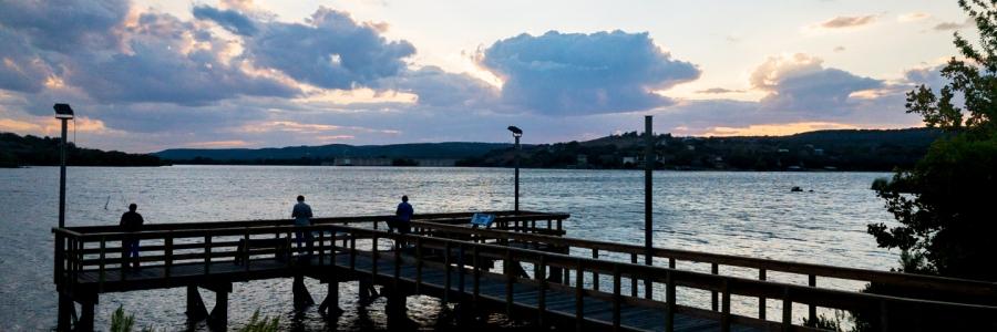 Fishing Pier on Inks Lake