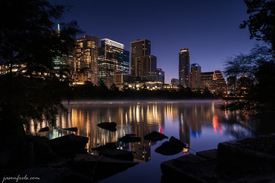 Austin in Predawn Twilight