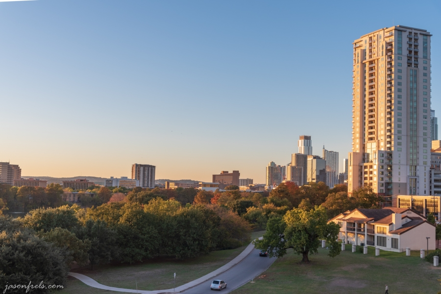 Austin During Golden Hour