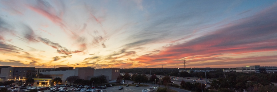 Sunset Over Neiman Marcus