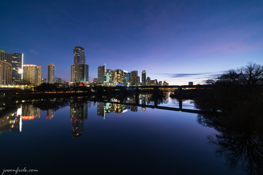 Austin Texas in Morning Twilight
