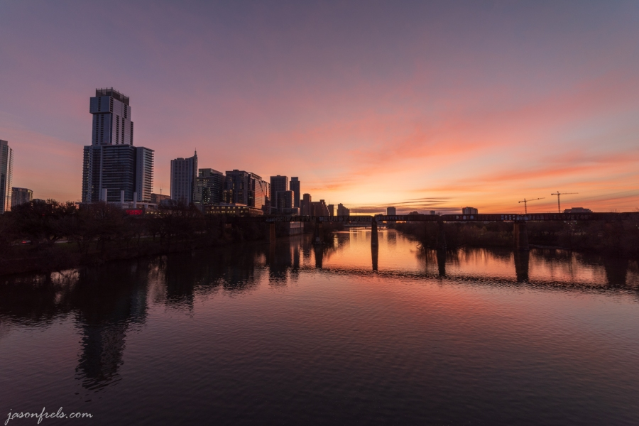 Austin Texas at sunrise