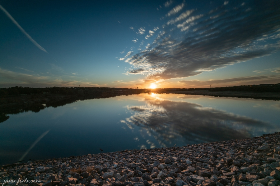 Sunset at Brushy Creek, Cedar Park Texas