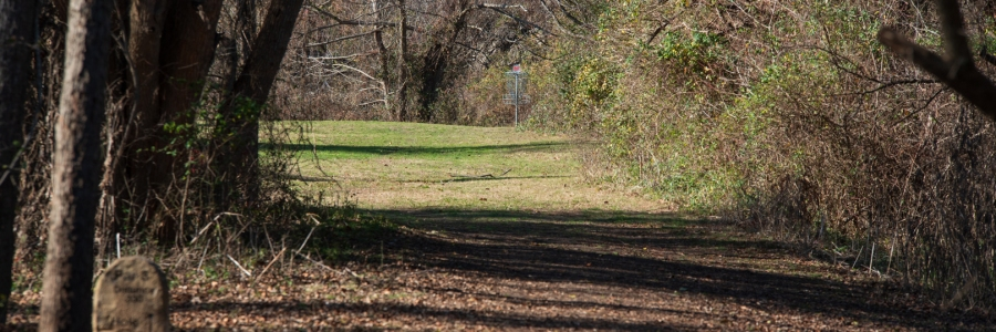 16th at Leander Disc Golf Course