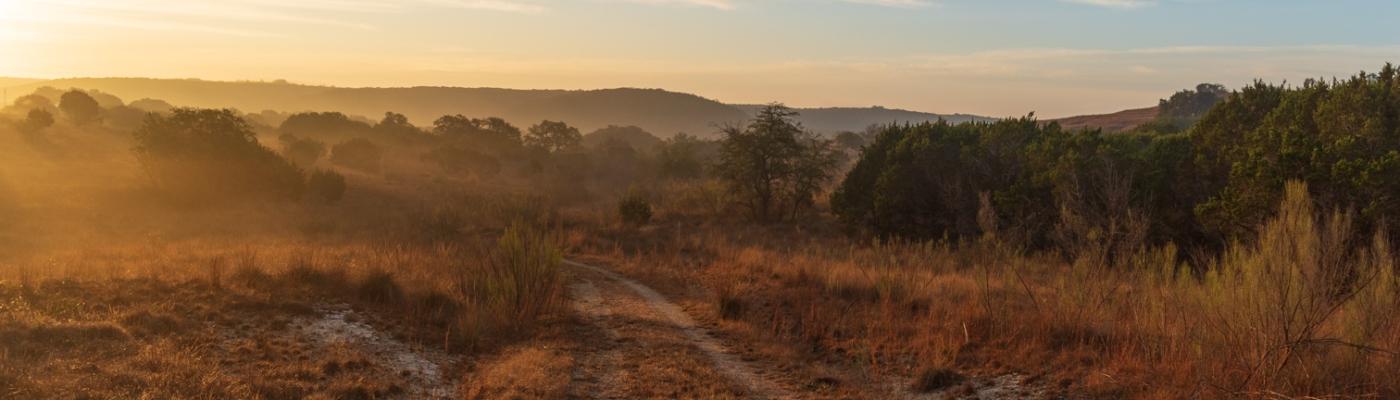 Trail at Balcones Canyonland National Wildlife Refuge