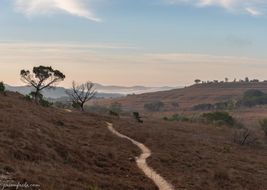 Balcones-Canyonlands-Hiking-Trail-Sunrise