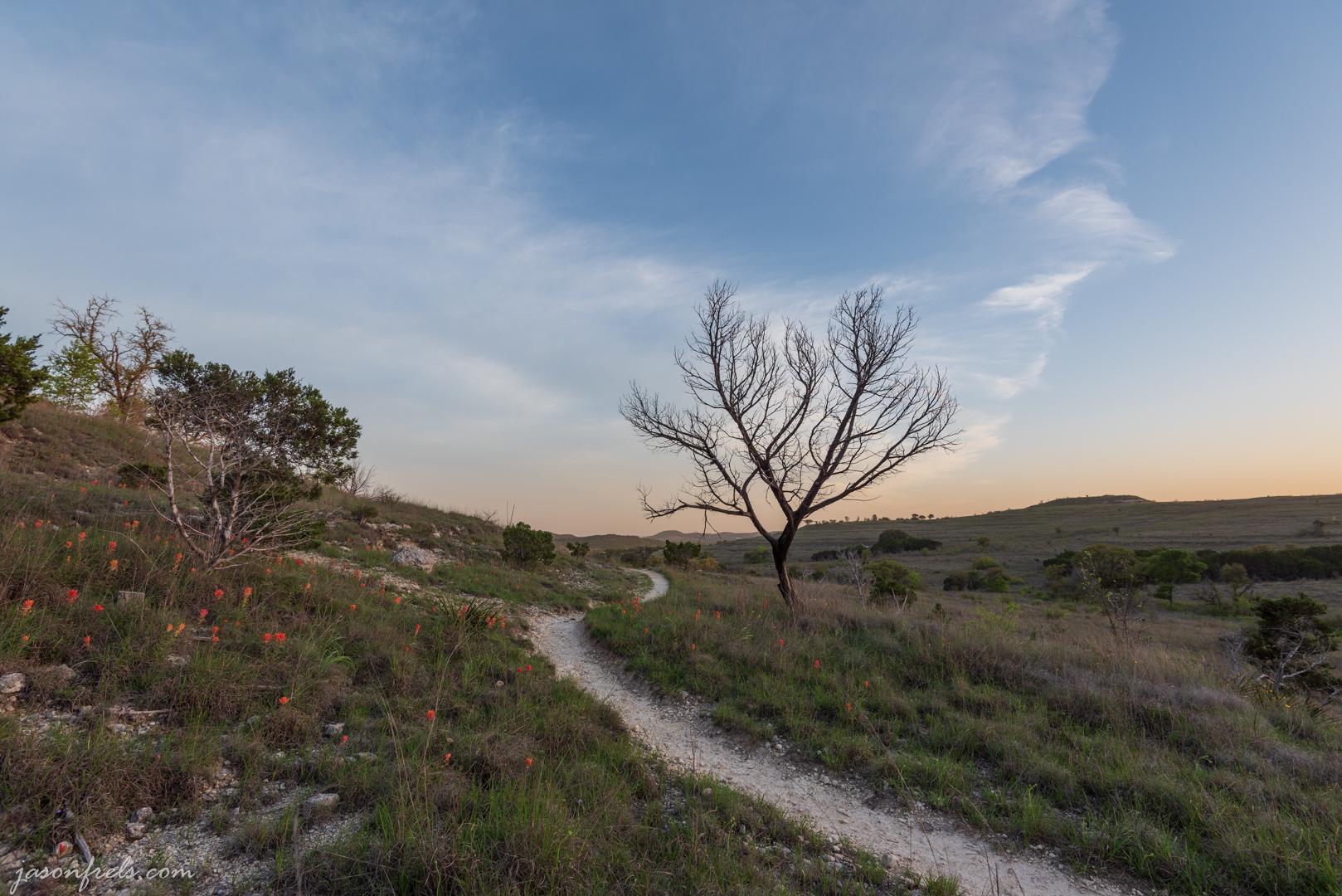 Hiking Trail at Balcones Canyonlands National Wildlife Refuge