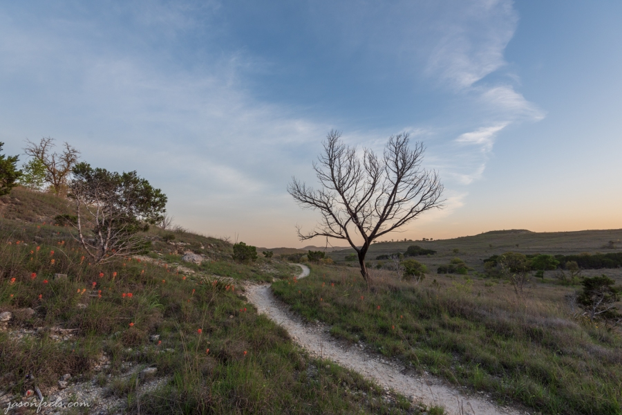 Hiking Trail at Balcones Canyonlands National Wildlife Refuge