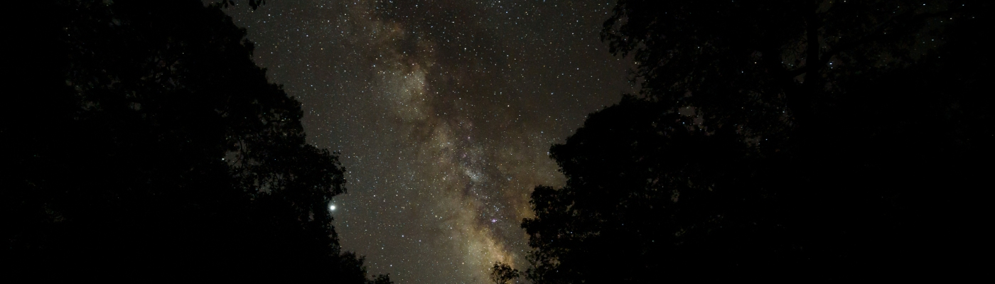 Milky Way at Lost Maples State Natural Area
