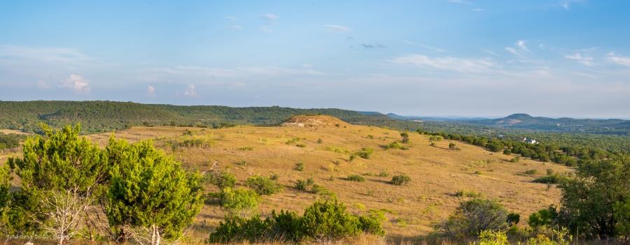 Panorama at Balcones Canyonland National Wildlife Refuge