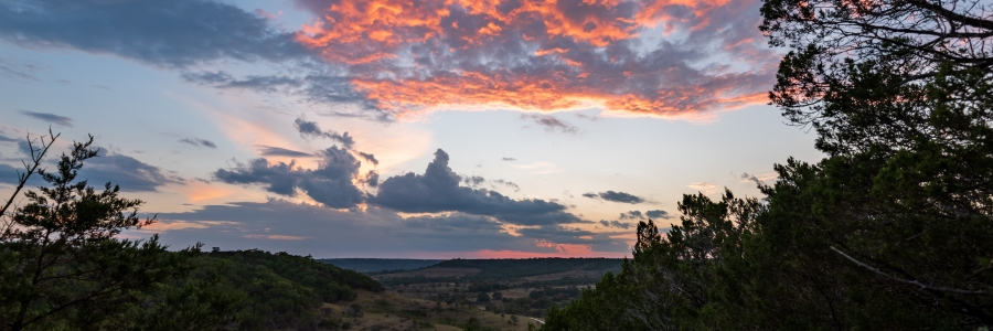 Sunset at Balcones Canyonlands National Wildlife Refuge