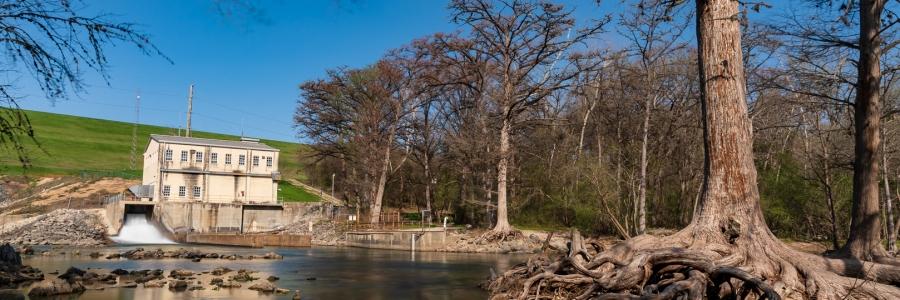 Canyon Lake Dam Long Exposure