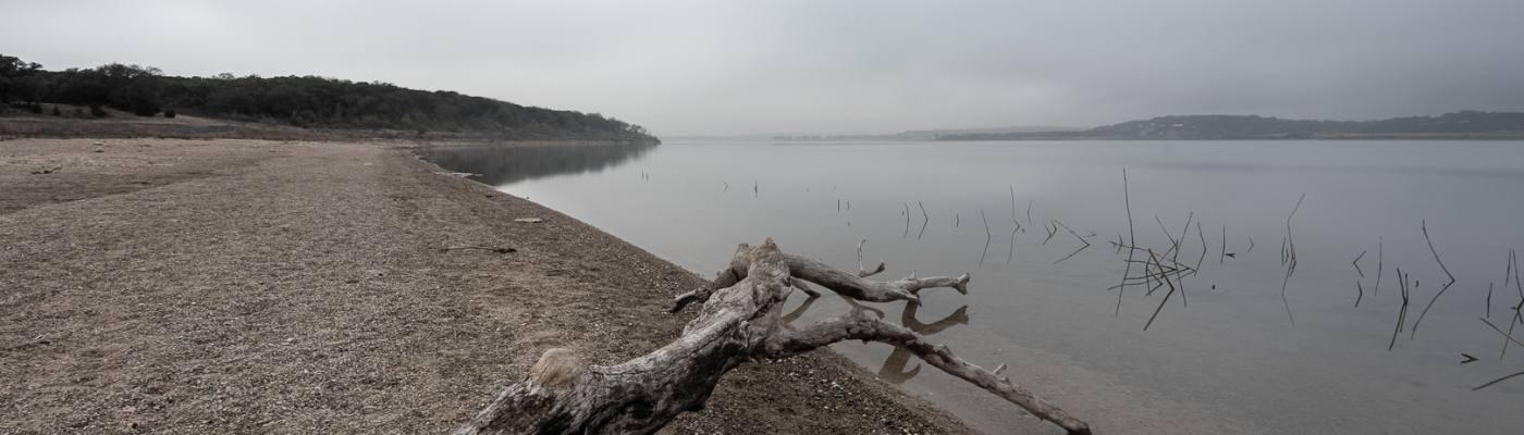 Canyon Lake on a Foggy Morning