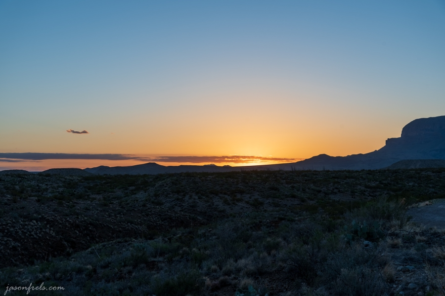 Sunrise at Big Bend National Park